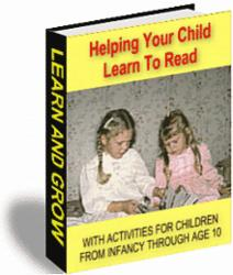 Helping Your Child Learn To Read