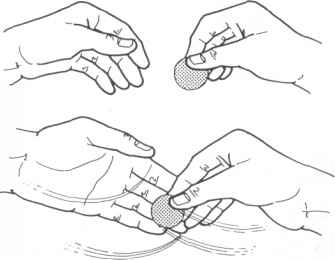 Drawing Hand Coins