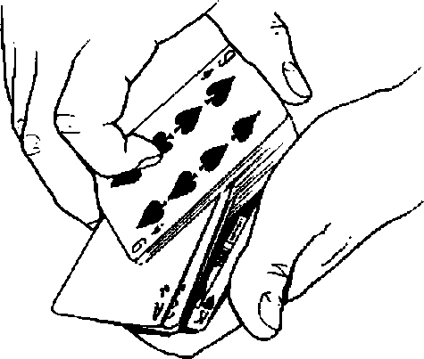 Deal Cards Drawing
